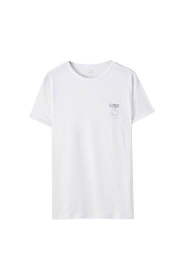 Basic-Shirt mit Print
