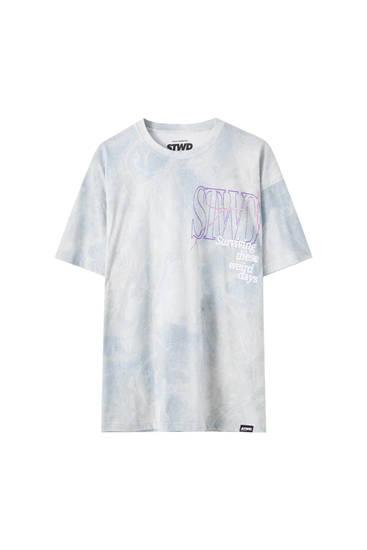 STWD tie-dye T-shirt