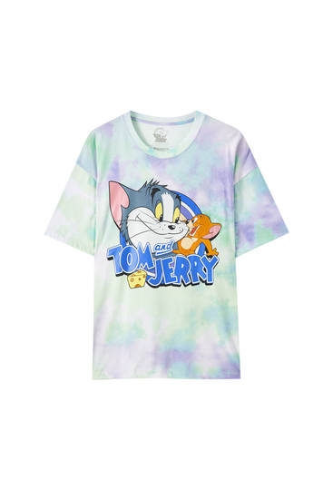 Tie-dye-Shirt Tom & Jerry