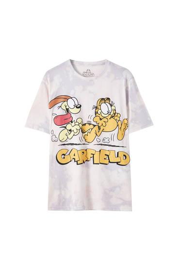 Garfield tie-dye T-shirt