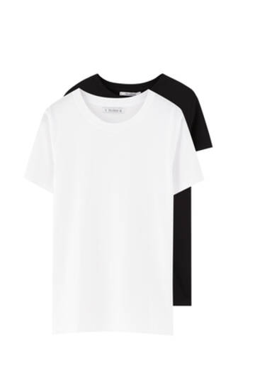 Pack of basic T-shirts