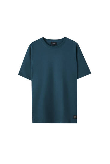 Heavy quality round neck T-shirt
