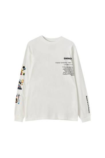 "Wassily Kandinsky ""Swinging"" T-shirt"