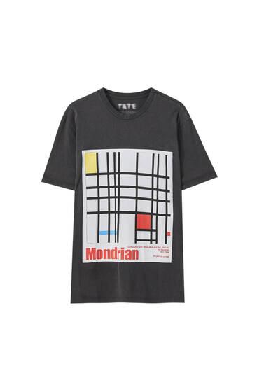 T-shirt avec l'œuvre de Mondrian