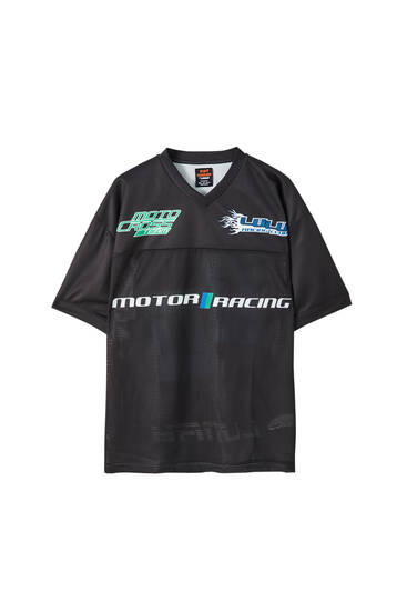 Sicko19 Sickonineteen by Lunay 'Motor Racing' T-shirt