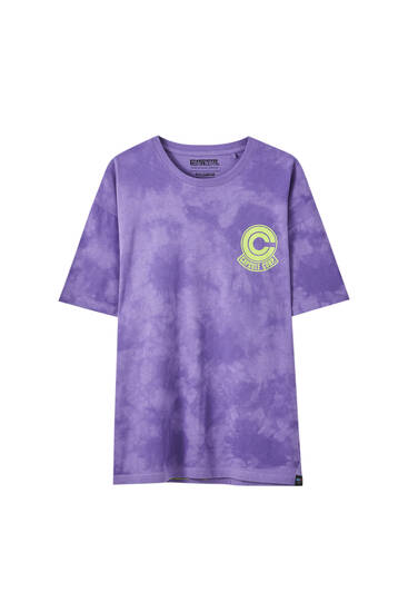 Camiseta Dragon Ball tie-dye
