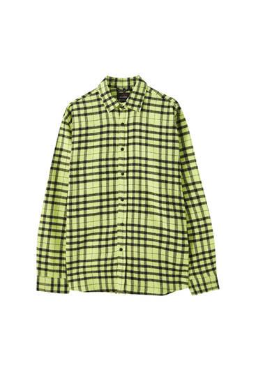 Camisa colors quadres contrast