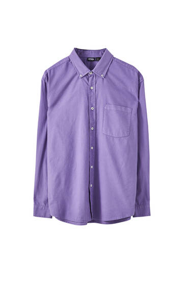Camisa bàsica relaxed fit