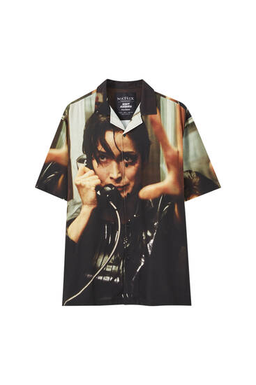 The Matrix printed shirt