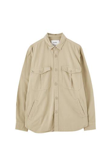 Uzun kollu fitilli ince ceket