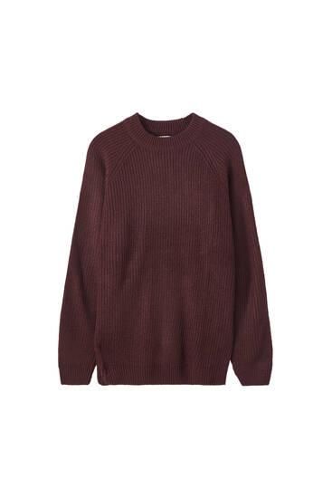 Suéter punto cuello perkins