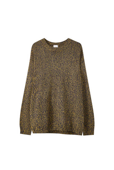 Pullover aus Kordonettgarn