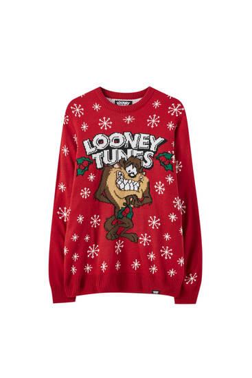 """""""Bolondos dallamok"""" Taz karácsonyi pulóver"""