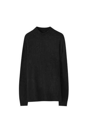 Pull soft col montant