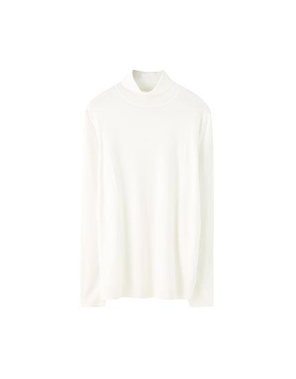 Jersey básico cuello alto colores