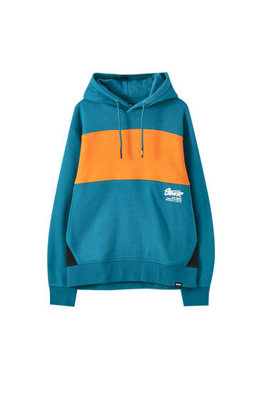 STWD colour block sweatshirt