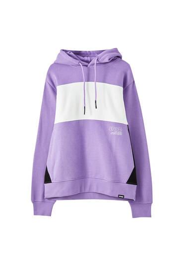 STWD colour block sweatshirt