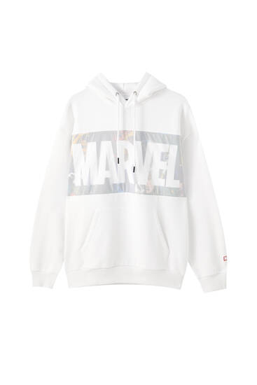 Sudadera panel Marvel
