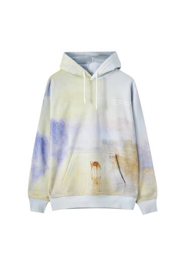 "Sweatshirt Tate Art Collection ""Norham Castle, Sunrise"""