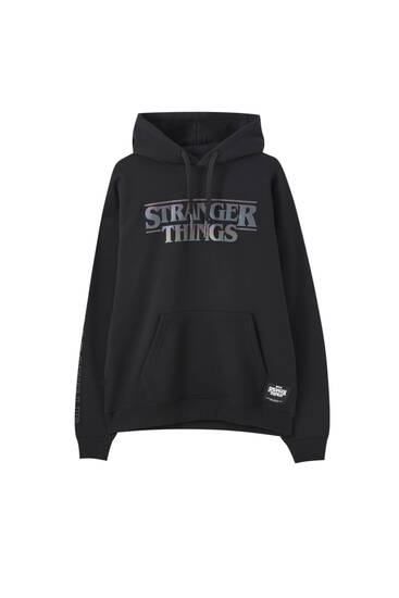 Stranger Things reflective hoodie