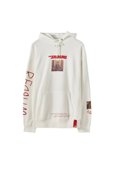 White 'The Shining' sweatshirt