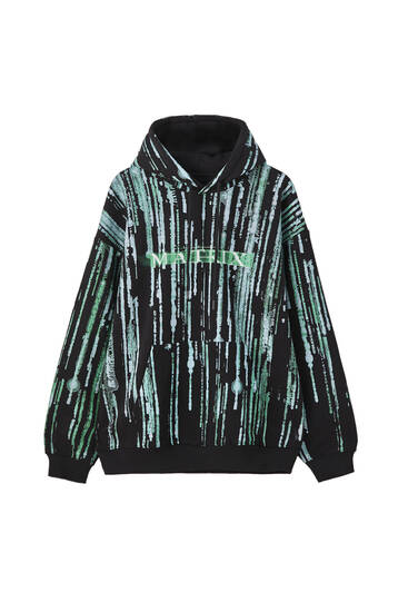 The Matrix hoodie with logo