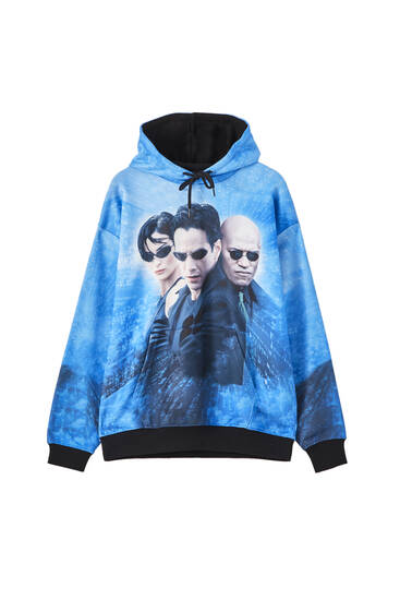 The Matrix characters hoodie