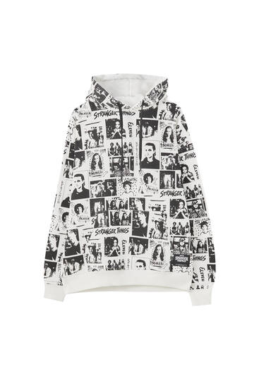 Stranger Things print sweatshirt