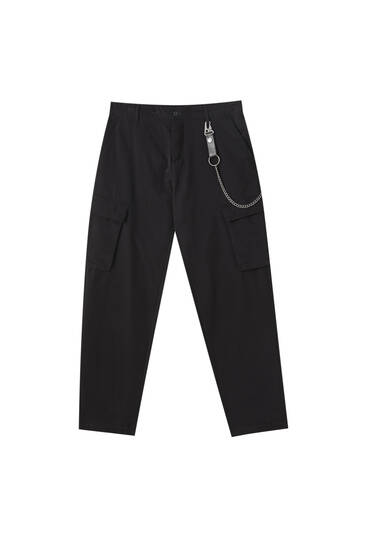 Cargohose im Slim-Fit