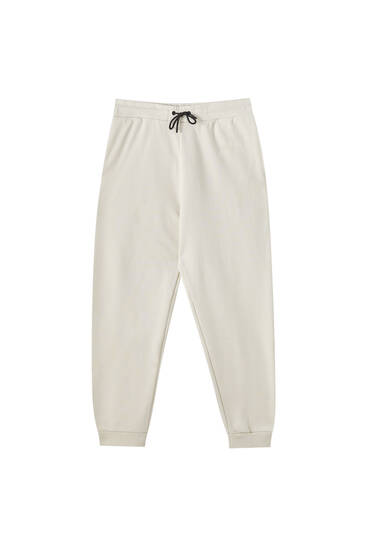 Pantalon jogger heavy weight