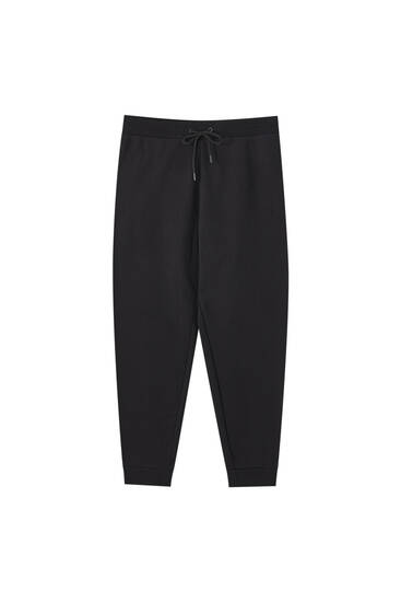 Heavy weight jogging trousers