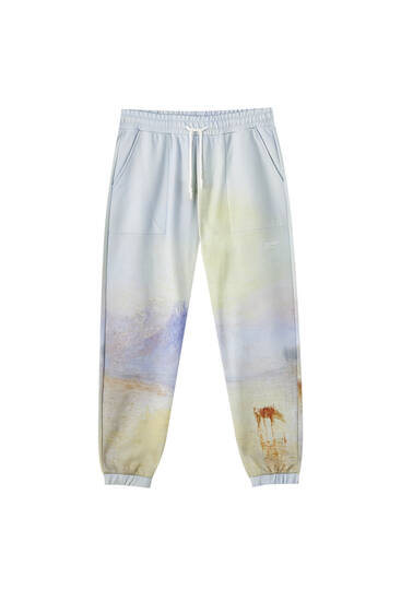 "J.M.W. Turner ""Norham Castle, Sunrise"" jogging trousers"