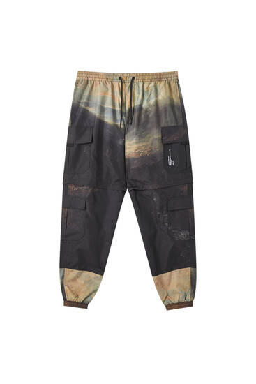 J.M.W. Turner cargo trousers