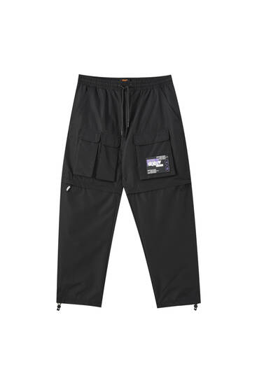 Sicko19 Sickonineteen detachable utility trousers