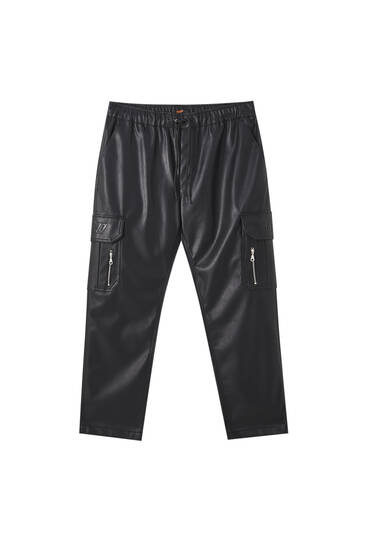 Faux leather Sicko19 Sickonineteen trousers