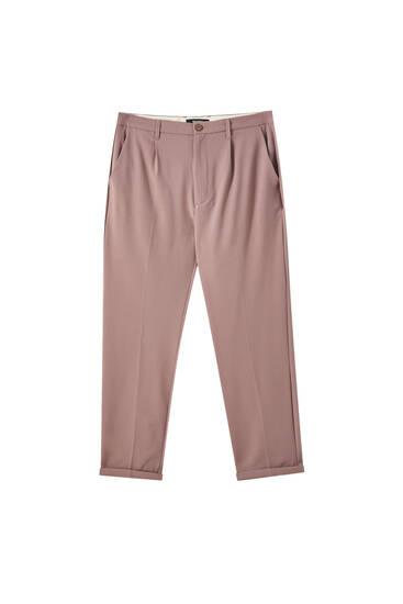 Eng geschnittene Hose im Slim-Comfort-Fit