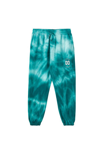 Sicko19 Sickonineteen by Lunay tie-dye joggers