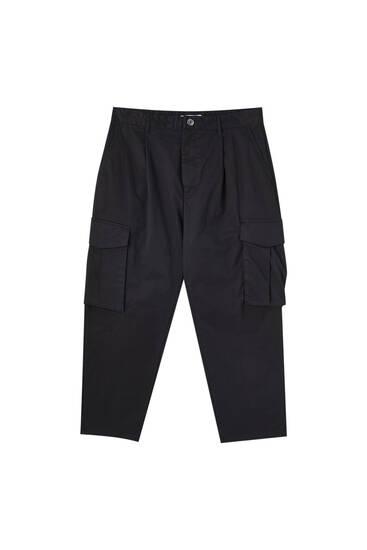 Cargo chino trousers with pockets