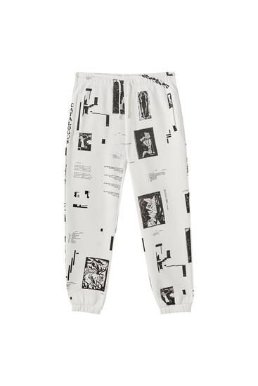 """De Branding"" jogging trousers"
