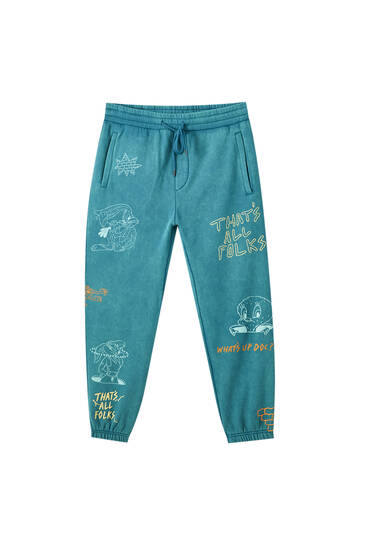 Looney Tunes x Evan Rossell jogging trousers