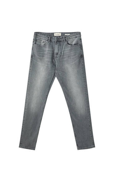 Slim comfort fit grey jeans