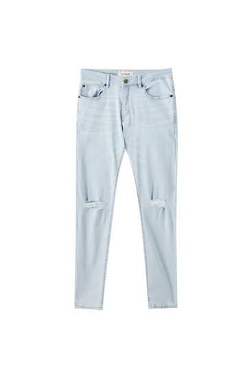 Jeans superskinny básicas