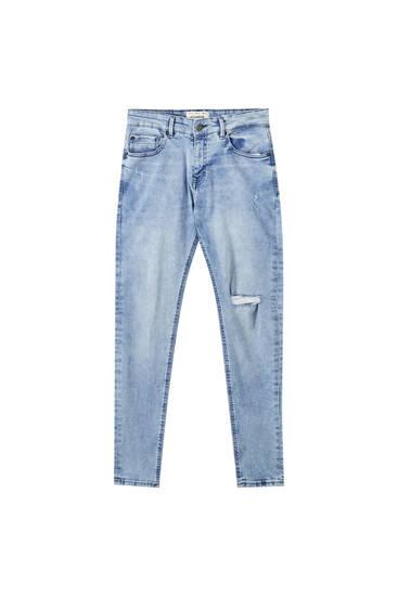 Jeans superskinny básicos