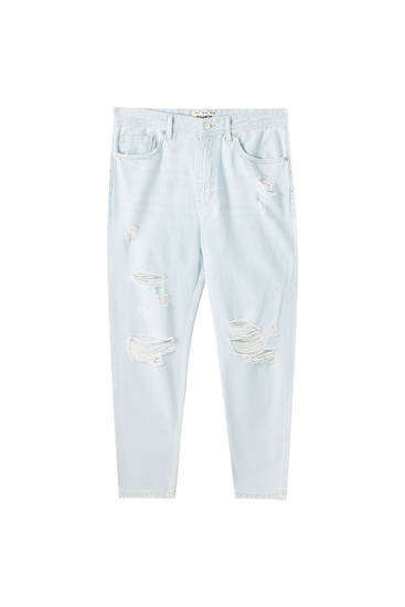 Jean bleu relaxed fit
