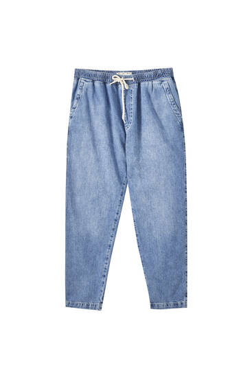 Loose fit beach jeans