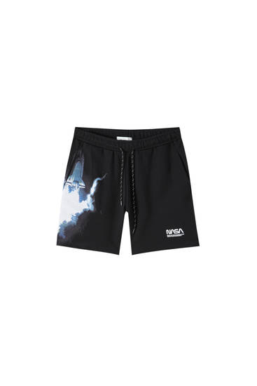 Nasa jogging Bermuda shorts
