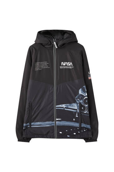 NASA raincoat