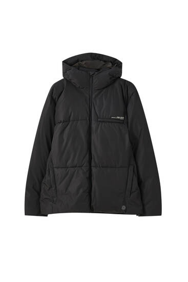 Bunda puffer water-repellent