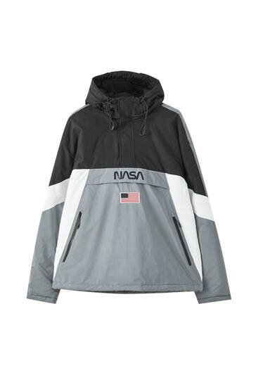 Reflective NASA anorak jacket