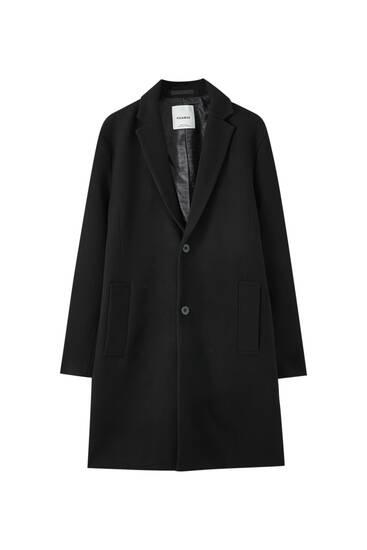 Classic synthetic wool coat